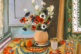 Henri Matisse Les Anemones Flowers Art Print Poster Plakat