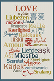 International Love Poster Foto