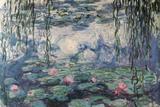 Claude Monet Nympheas Water Lilies Art Print Poster Prints