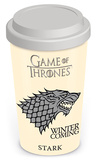Game Of Thrones - House Stark Travel Mug Becher