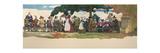 Thanksgiving Banquet, 1940 Reproduction procédé giclée par Newell Convers Wyeth