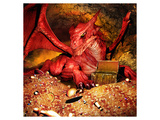 Dragon Smaug & Erebor Treasure Láminas