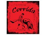 Corrida - Red Bullfight Sign Kunst