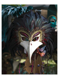 Beacked Carnival Mask Italy Prints