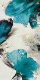 Blue Ribbon Blooms II Plakater av Asia Jensen