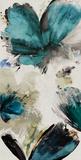 Blue Ribbon Blooms I Kunst av Asia Jensen
