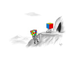 Cartoon Lámina giclée prémium por Bob Eckstein