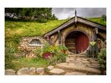 Baggin Hobbit Home New Zealand Posters