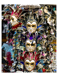 Venice Carnival Masks Italy Posters