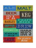 Beer Speak Posters par Sam Appleman