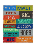 Beer Speak Art by Sam Appleman