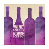 Words of Wine 4 Art par Lola Bryant