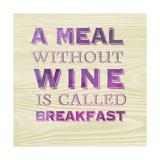 Words of Wine 10 Affiches par Lola Bryant