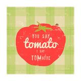 Gingham Tomato Affiches par Lola Bryant