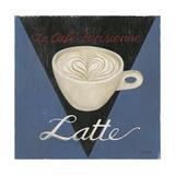 Café Parisienne Latte Láminas por Arnie Fisk
