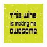 Words of Wine 5 Posters par Lola Bryant