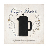Café Paris Coffee Póster por Arnie Fisk