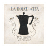 La Dolce Vita Coffee Láminas por Arnie Fisk