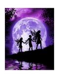 Moonlit Path Posters by Julie Fain