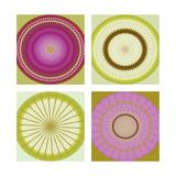 Circle Love Collage Kunst av Herb Dickinson