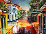 French Quarter Summer Day Print by Diane Millsap