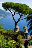 Ravello Villa Rufolo Amalfi Coast Reproduction photographique par Charles Bowman