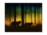 Forest Spirits Art by Julie Fain