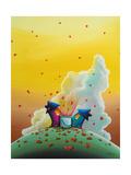 Let Love Rain Prints by Cindy Thornton