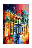 Colors of the Vieux Carre Art by Diane Millsap