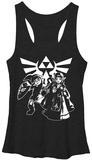Juniors Tank Top: Legend Of Zelda- Heroes Of Hyrule Womens Tank Tops