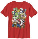 Youth: Super Mario- Character Parade T-Shirts