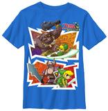 Youth: Legend Of Zelda- Spirit Tracks T-shirts