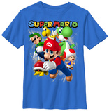 Youth: Super Mario- Fun Times T-shirts