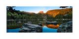 Bear Lake Rocky Mntn Natl Park Colorado Fotografisk tryk af Steve Gadomski