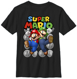 Youth: Super Mario- Ultimate Bros T-shirts