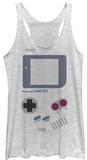 Juniors Tank Top: Game Boy- Old School Womens Tank Tops