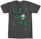 Super Mario- Gets Life T-Shirt