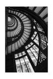Stairwell The Rookery Chicago IL Fotografisk tryk af Steve Gadomski