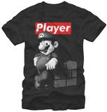 Super Mario- Player Magliette