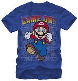 Super Mario- Game On T-Shirt