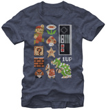 Super Mario- Retro Set T-Shirts