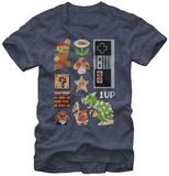 Super Mario- Retro Set Shirts