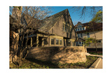 Frank Lloyd Wright Home and Studio Fotografie-Druck von Steve Gadomski