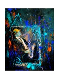 Saxyfolly Posters by Pol Ledent