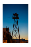 Alcatraz Guard Tower Fotografie-Druck von Steve Gadomski