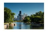 Lincoln Park Chicago Fotografisk trykk av Steve Gadomski