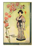 Puccini Opera Madame Butterfly Poster