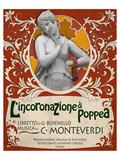 Monteverdi Opera Poppea Julisteet