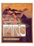 Villa - Los Cigarillos Paris Print