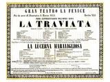 Verdi Opera La Traviata Posters